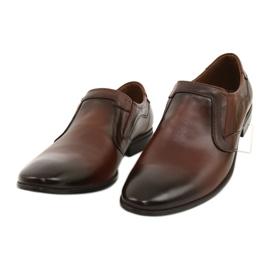 Lukas Men's formal, slip-on shoes 284 brown 9