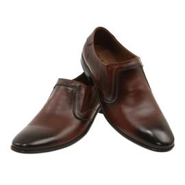 Lukas Men's formal, slip-on shoes 284 brown 10