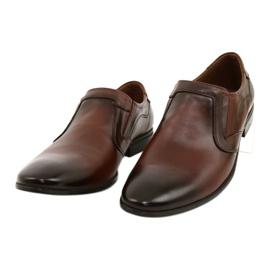 Lukas Men's formal, slip-on shoes 284 brown 1