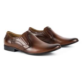 Lukas Men's formal, slip-on shoes 284 brown 3