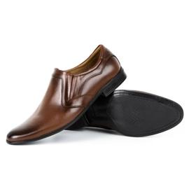Lukas Men's formal, slip-on shoes 284 brown 4