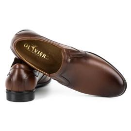 Lukas Men's formal, slip-on shoes 284 brown 5