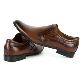 Lukas Men's formal, slip-on shoes 284 brown 6