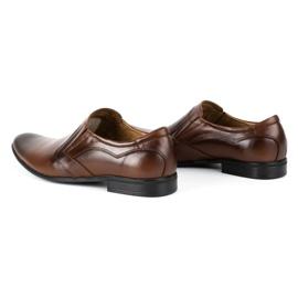 Lukas Men's formal, slip-on shoes 284 brown 7