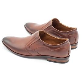 Lukas Men's formal, slip-on shoes 284 brown 8