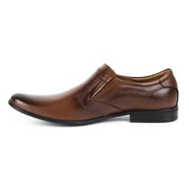 Lukas Men's formal, slip-on shoes 284 brown 2