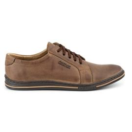Polbut Men's shoes 320 brown 1