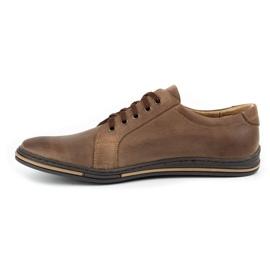 Polbut Men's shoes 320 brown 2