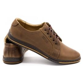 Polbut Men's shoes 320 brown 5