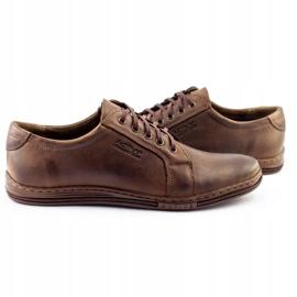 Polbut Men's shoes 320 brown 6