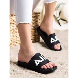 SHELOVET Comfortable Slippers black 3