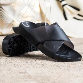 SHELOVET Fashionable Rubber Flip black 1