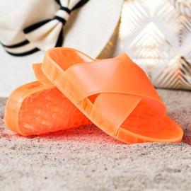 SHELOVET Fashionable Rubber Flip orange 1