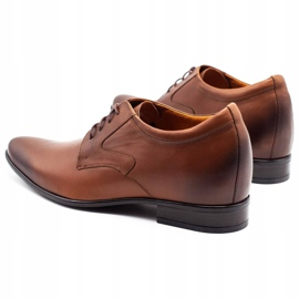 Olivier Men's formal shoes P11 increasing the covered wedge brown 4