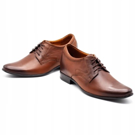 Olivier Men's formal shoes P11 increasing the covered wedge brown 3