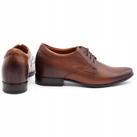 Olivier Men's formal shoes P11 increasing the covered wedge brown 2