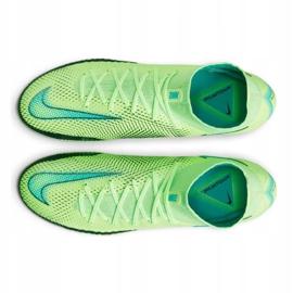 Nike Phantom Gt Elite Dynamic Fit Fg M CW6589 303 football shoe multicolored green 4