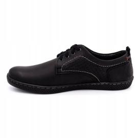 Olivier Men's casual shoes 302GT black 3