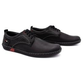 Olivier Men's casual shoes 302GT black 4