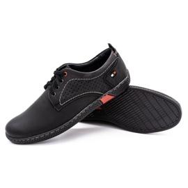 Olivier Men's casual shoes 302GT black 5