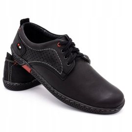 Olivier Men's casual shoes 302GT black 6