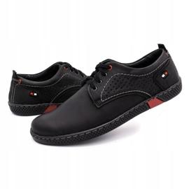 Olivier Men's casual shoes 302GT black 8
