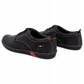 Olivier Men's casual shoes 302GT black 9