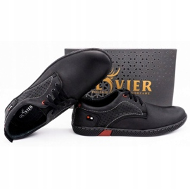 Olivier Men's casual shoes 302GT black 2