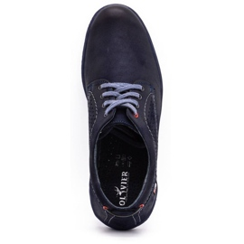 Olivier Men's casual shoes 302GT navy blue 10