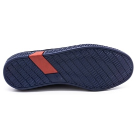 Olivier Men's casual shoes 302GT navy blue 1