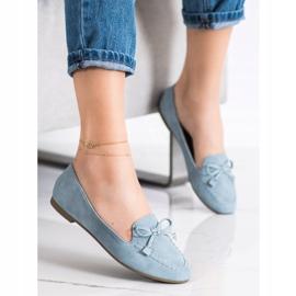 Nio Nio Stylish blue loafers 1
