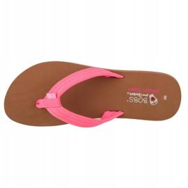 Skechers Bobs Sunset Neon Summer W 57116-NPNK black pink 2