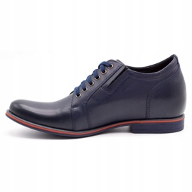 Olivier Men's shoes increasing P24 navy blue 1