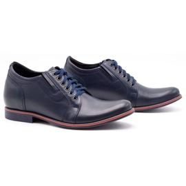 Olivier Men's shoes increasing P24 navy blue 2