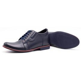 Olivier Men's shoes increasing P24 navy blue 3