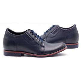 Olivier Men's shoes increasing P24 navy blue 5