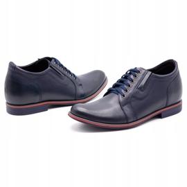 Olivier Men's shoes increasing P24 navy blue 6