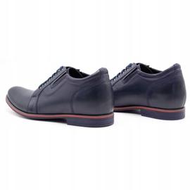 Olivier Men's shoes increasing P24 navy blue 7
