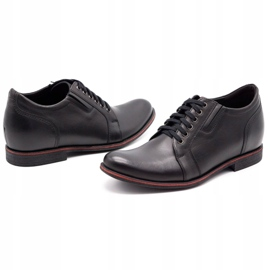 Olivier Black men's increasing shoes P24 6