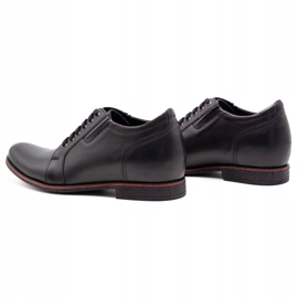 Olivier Black men's increasing shoes P24 7