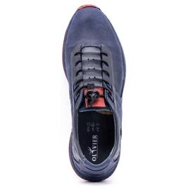 Olivier Men's sports shoes 7075 navy blue 10
