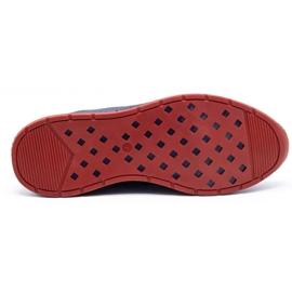 Olivier Men's sports shoes 7075 navy blue 1
