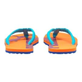 Puma Epic Flip v2 slippers orange 360248 52 blue 4