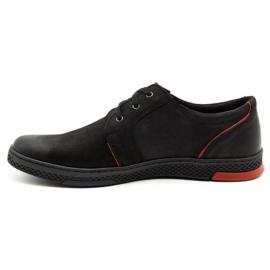 Joker Men's leather casual shoes 322/2 black 2