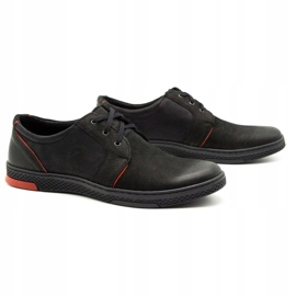 Joker Men's leather casual shoes 322/2 black 3
