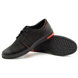 Joker Men's leather casual shoes 322/2 black 4