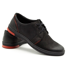 Joker Men's leather casual shoes 322/2 black 5