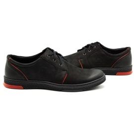Joker Men's leather casual shoes 322/2 black 6