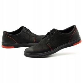 Joker Men's leather casual shoes 322/2 black 7