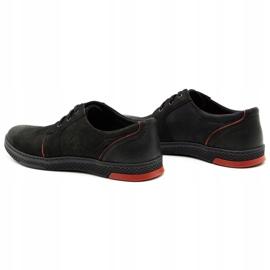 Joker Men's leather casual shoes 322/2 black 8